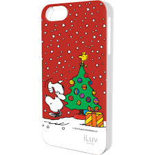 iluv snoopy holiday series hardshell case for iphone ica7h384red
