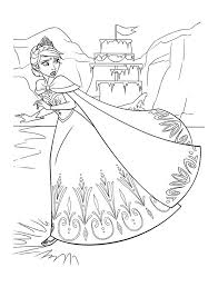 frozen coloring pages kids free printable frozen coloring