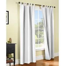 White Cotton Curtains Tab Top Curtains U0026 Drapes Shop The Best Deals For Dec 2017