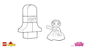 lego duplo snow white coloring coloring lego duplo