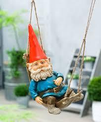 Lawn Gnome by Buy Rien Poortvliet Garden Gnome In A Hammock Bakker Com
