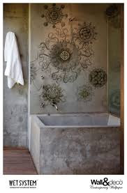 Wallpaper Designs For Bathrooms by 40 Best Bathroom Wallpaper Images On Pinterest Bathroom