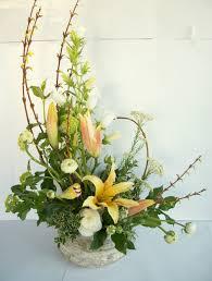 stunning triangular flower arrangement flower