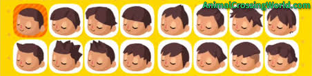 acnl starter hair guide customizing your character s appearance face hair skin tone in