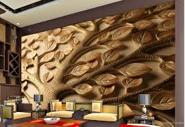 3d Wallpaper For Living Room by Fortune Tree Living Room Tv Background Wall Background Painting