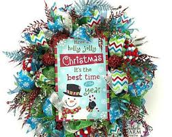 Vintage Christmas Decorations For Sale On Sale Red And White Christmas Wreath Christmas Door Wreath