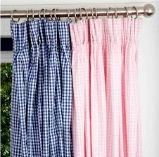 Playhouse Curtains Large Gingham Check Curtains Gingham Curtains Decorating Ideas