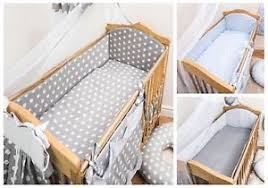 Nursery Cot Bedding Sets 3 Nursery Cot Bedding Set With Large All Safety Bumper