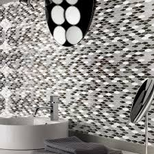 diamond wall tile peel and stick backsplash for kitchen 5 8 sq ft