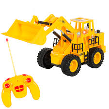 rc remote control construction tractor with lights u0026 sounds 5