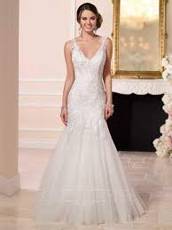 fit and flare wedding dress fit and flare beaded lace and tulle satin wedding dress