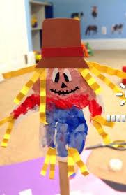 Hand Crafts For Kids To Make - handprint scarecrow craft for kids to make crafty morning
