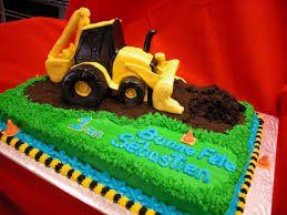 backhoe cake cakes by alisa brooks pinterest cake birthdays