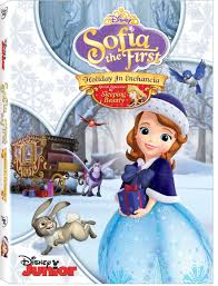 sofia the first holiday in enchancia dvd with princess aurora i