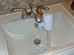 Shower Countertop Undersink Water Filters  MoreSanteForHealth - Water filter for bathroom sink