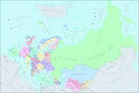 Map Of Eurasia Image