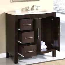 Bath Vanities Chicago Chicago Walnut Single Sink Bathroom Vanity 3cm White Quartz Top