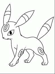 fabulous pokemon umbreon coloring pages with pokemon coloring
