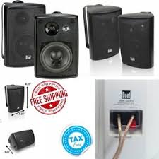 Wireless Outdoor Patio Speakers Outdoor Stereo System Ebay