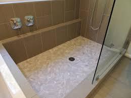 walk in shower alex freddi construction llc a ledge along the shower