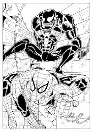 spiderman and venom by frank n groove on deviantart