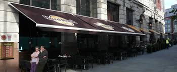 Cafe Awning Sovereign Awnings Premium Quality Bespoke Garden And Business