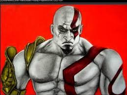 imagenes de zeus para dibujar faciles cómo dibujar a kratos de god of war youtube