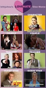 Glee Memes - glee love hate meme by rosarioilovetl on deviantart