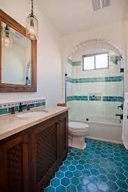 Blue Amp Green On Pinterest Cobalt Blue Green Bathroom by Best 25 Turquoise Tile Ideas On Pinterest Moroccan Tiles