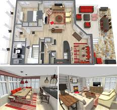 RoomSketcher Home Design Software Interior Project 3D Floor Surprising