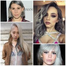 silver hair color trend for 2016 2017 u2013 best hair color trends