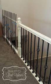Banister Railing Installation Staircase Remodel From M C Staircase U0026 Trim Removal Of Carpet
