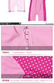 2016 new little girls one piece swimwear cute pink dots short kids
