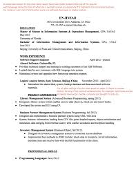 Sap Bo Resume Sample Business Objects Sample Resume Free Resume Example And Writing