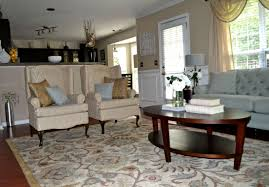 How To Decorate Living Room Table The Corner Grey Fur Rug Two Shelves For Storage Decorating Living 2