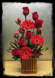 Red Flowers In A Vase Best 25 Red Flower Arrangements Ideas On Pinterest Fall Wedding