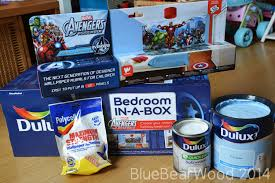 dulux bedroom in a box review blue wood