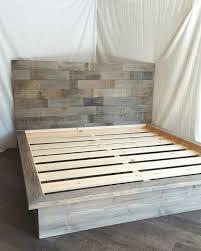 Easy Diy King Platform Bed Frame by Bed Diy Platform Bed Frame Home Design Ideas