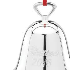 reed and barton bell 2016 ornament silver bell