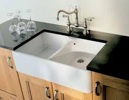 Country Kitchen Sinks Kitchen With Farm Sink Farm Sink Single Large Rectangular