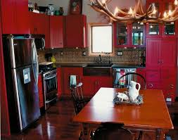 Red And Black Kitchen Cabinets by 32 Best Kitchen Remodel Red Black Images On Pinterest Kitchen