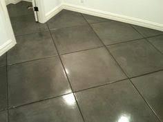 staining tile floors trying this tile flooring