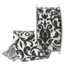 white 1 1 2 damask grosgrain ribbon hobby lobby 52374