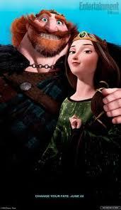 brave movie poster cast 24x36 disney pixar princess ebay