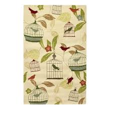 home decorators area rugs home decorators collection aviary ivory 5 ft x 8 ft area rug