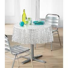 nappe cuisine plastique nappe pvc mosaique transparent ronde 140 cm achat vente nappe de