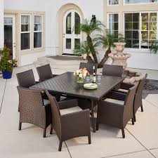 avalon 9pc dining set mission furniture