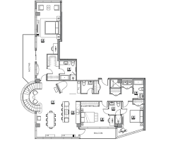 floorplan of the week 2 7 million montreal penthouse with three