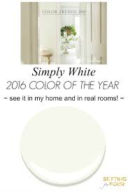 color of the year 2016 simply white year 2016 benjamin moore