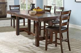 kona gathering table 6 bar stools